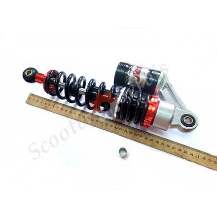 Амортизатор газомасляный, 310мм с подкачкой, регулируемый (класс А), ухо-ухо