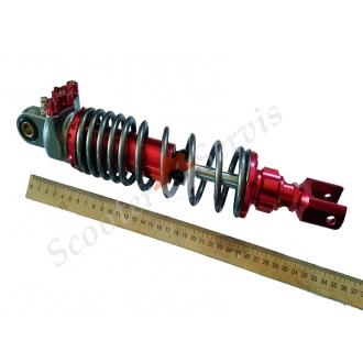 Амортизатор ухо-вилка регулируемый с подкачкой, обслуживаемый 320мм- 340мм