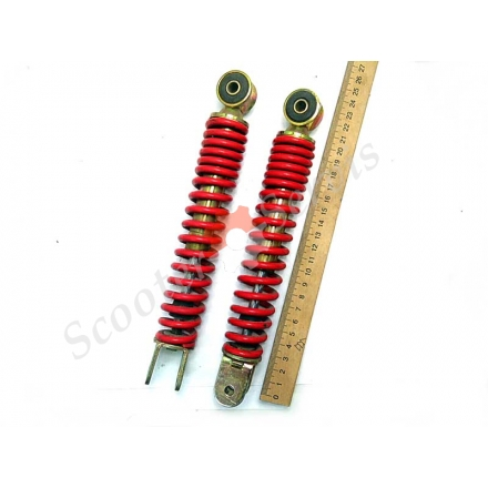 Амортизаторы передней рычажной вилки Сузуки Адрес, Suzuki Address (AD50 AD100)