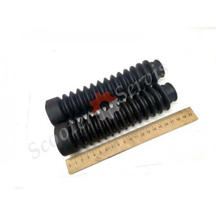 Гофри передньої гідравлічної вилки, діаметр пера 26мм