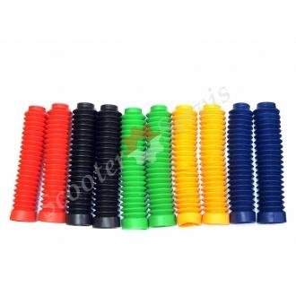 Гофры, пыльники передних амортизаторов (перьев), силиконовые цветные, длинна 195 мм - 255 мм, диаметр 45 мм