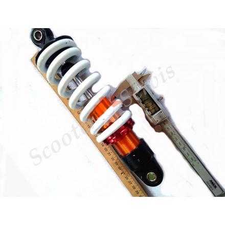 Моно амортизатор 260 мм, квадроциклы, мотоциклы, 125-200 кубов, регулируемый, ухо-ухо