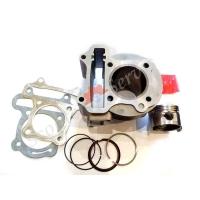 Цилиндро поршневая группа ( ЦПГ )  80 кубов, для скутера GY6 50-80 кубов двигатель, китайские скутера 4 тактные