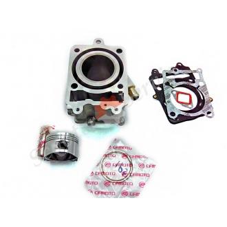 Цилиндро-поршневая группа (ЦПГ) двигателя 1P52MJ  150 кубов, CFmoto E-Charm, Шарм, CPI GTR 150 кубов (CF125T-5A) АльфаМото. водяное охлаждение