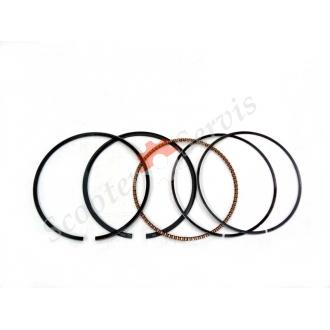 Кольца поршневые 4T AN250 Сузуки, Suzuki Skywave 250, Burgman 250, STD - диаметр 73 мм, и ремонтные размеры ( +0.25, +0.50, +0.75, +1.0)