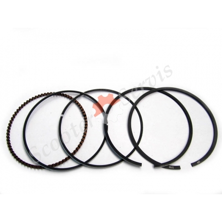Кільця поршневі для поршня KR6, мотоцикла Honda CBX250, XR250, стандартний (діаметр 75 мм) і ремонтні розміри