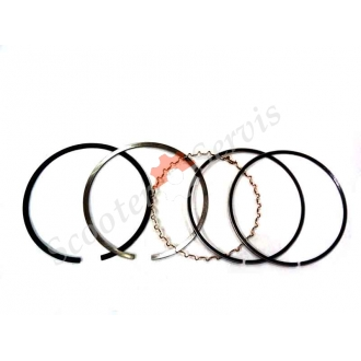 Кільця поршневі Honda Baja, Motard, XR250 STD (діаметр поршня 73 мм), ремонтні кільця розміри кілець +25, +50