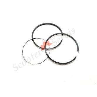 Кольца поршневые 2Т диаметр 40,75 скутера Honda Tact AB07E +0.75