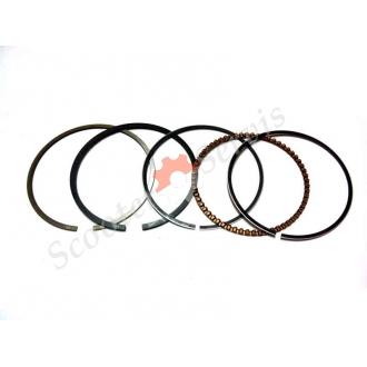 Кільця поршневі на поршень діаметр 62 мм, для мотоциклів CB150, CG150