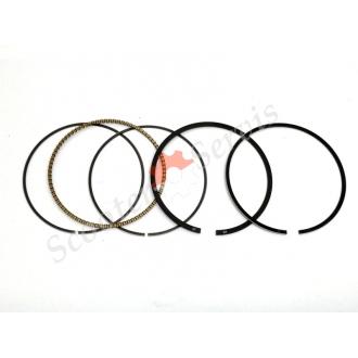 Кольца поршневые  Ø 49 мм, для мототехники Yamaha ZY100 jog100, JY110, Suzuki QS110, Zongshen, YB110, RS100, YAMAHA 100cc