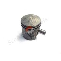 Поршень ремонтный (+25), диаметр 41.25 мм, для скутеров старых Сузуки, Suzuki, Лав, Карна, тип двигателя GS50