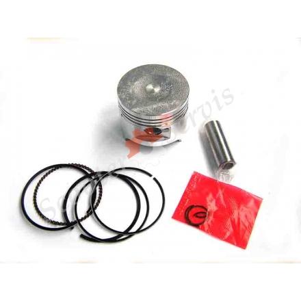 Поршень ремонтний, діаметр 50.5 мм (+50), для двигуна C100 на Дельта 100 кубів, Актив 100 кубів, Альфа 100 кубів, тип двигуна 1P39FMB, 150FMD, 150FMH