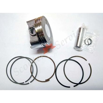 Поршень в зборі Honda CB250 STD, ремонтні розміри +0.25, +0.50, +0,75, +1.0