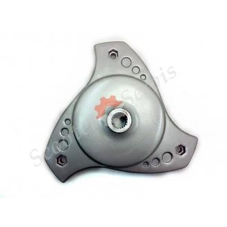 Колесо заднє Сузукі Векстар AN125, AN150, Suzuki Vecstar, вставка в колісний диск, гальмівний задній диск