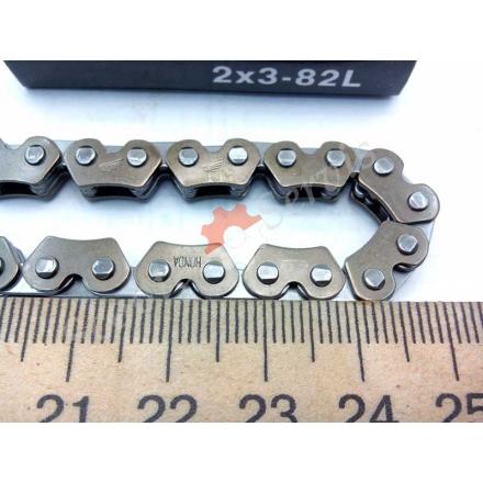 """Ланцюг ГРМ """"Honda"""", китайські скутера, GY6 50-80 кубів, тип двигуна 139QMB, (2x3-82L)"""