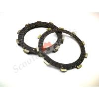 Диски сцепления фрикционные Yamaha XT225, XR250, CRM250, Honda AX-1