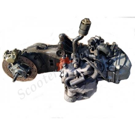 Двигатель Aprilia Atlantic 500, Scarabeo 500, 2006-2008 г.в,Piaggio Beverly 500 кубов, инжектор, Nexus X9, EVO X 10, MP3 500, ZAPM341, B500, разборка двигателя M341M