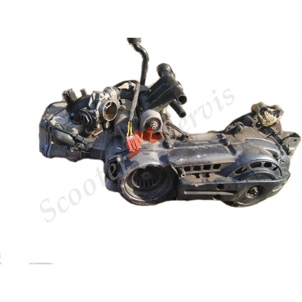 Двигун Aprilia Atlantic 500, Scarabeo 500, 2006-2008 р.в, Piaggio Beverly 500 кубів, інжектор, Nexus X9, EVO X 10, MP3 500, ZAPM341, B500, розбирання двигуна M341M