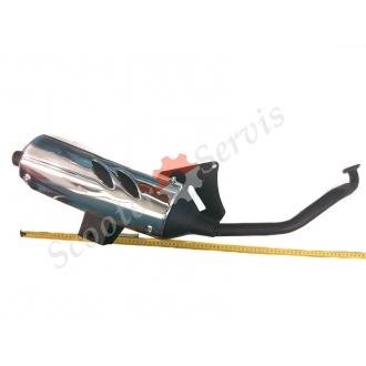 Глушитель (выхлопная труба) Круизер, Cruizer 150cc