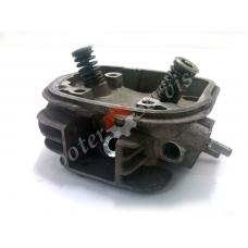 Головка клапанов двигателя Honda Today инжектор, Хонда Тудей AF-61i 50cc, в сборе (японский оригинал)