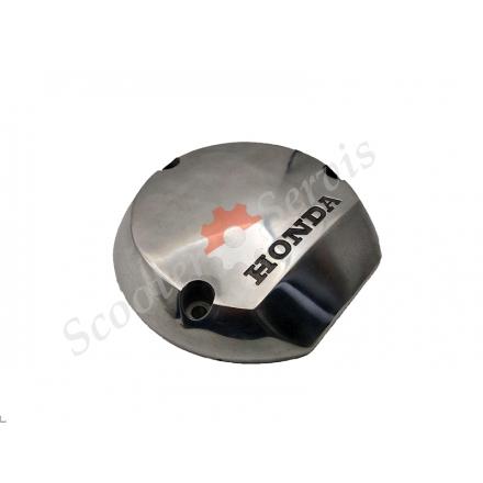 Кришка хромована, права генератора мотоцикла Honda CB400, VTEC, 1/2/3 покоління