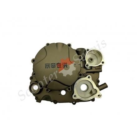 Кришка права зчеплення мотоцикла Zongshen CQR250, M7, R8 з водяним охолодженням