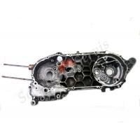 Картер левый двигателя Ямаха Цигнус XC125T, 4KP, YAMAHA Cygnus 125 D, японский оригинал