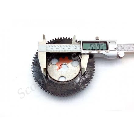 Обгонная муфта стартерного механизма Yamaxa Jog 90cc, китайские скутера тип двигателя Ямаха