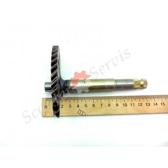 Полумесяц кикстартера, заводная шестерня GY6 китайские скутера 125-150cc