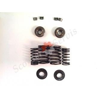 Пружины, сухари клапанов Хонда Спейси, Honda Spacy CH-125