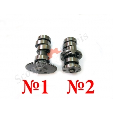 Распредвал двигателя AN125, AN150 Сузуки Векстар, Suzuki Vecstar 125-150 кубов, Suzuki UE 125/150 CT K1 (01-03 г.в)