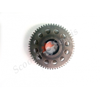 Обгонная муфта ( шестерня) стартерного механизма СУЗУКИ ВЕКСТАР, Suzuki Vecstar AN125, AN150