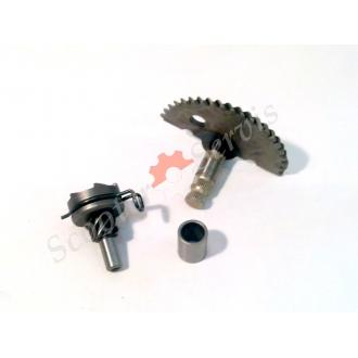 Заводний механізм 4т 50-80 кубів для китайських скутерів (комплект)