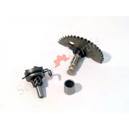 Заводной механизм 4т 50-80 кубов для  китайских скутеров (комплект)
