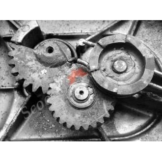 Заводной механизм, шестерни, двигатель Z401 Suzuki Choinori BA-CZ41A, Сузуки Чои Нори