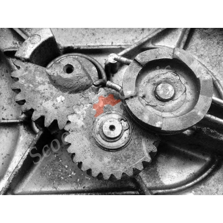 Заводний механізм, шестерні, двигун Z401 Suzuki Choinori BA-CZ41A, Сузукі Чоі Норі
