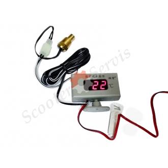 Цифровой датчик температуры двигателя скутер, мото, авто, квадроцикл