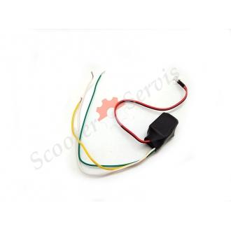 Датчик автоматичного включення габаритів, світла фар, 12V (ВІДЕО)