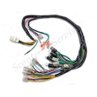 Электрическая проводка передней части и приборной панели, тип Вайпер Шторм, Viper Storm 4т
