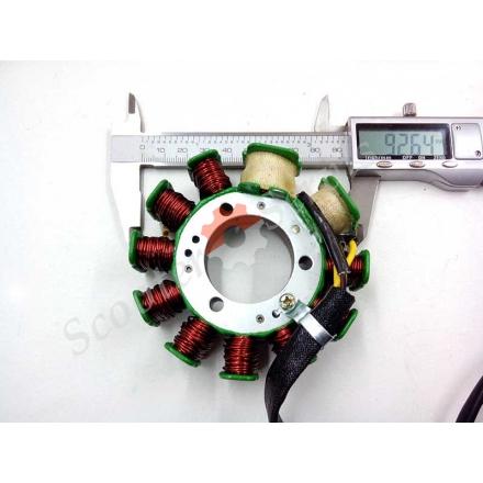 Генератор обмотка, Хонда Спейси 125, Honda Spacy 125, CH-125, CH150