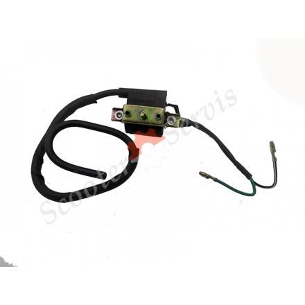 Котушка запалювання 4Т, кріплення шпилька, одноциліндрового двигуна