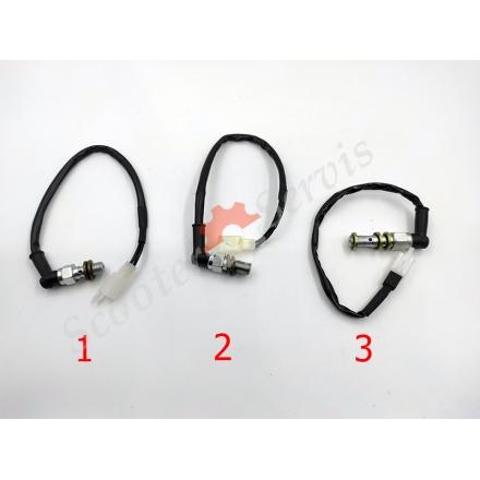 Кінцевик, жабка гідравлічна включення лампи заднього стопа, різьблення м10 * 1 / 1,25, скутера, мотоцикла, ATV