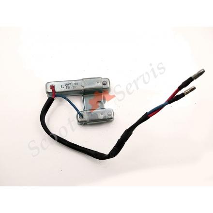Навантажувальний резистор, подвійне опір