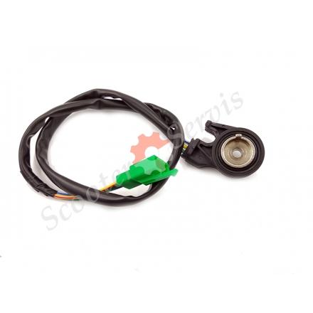Стоп двигателя, аварийный выключатель, датчик лентяйки, положения бововой подножки мотоцикла Honda CB400, CBR400/600, CA250