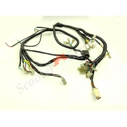 Електрична проводка центральній частині максі-скутера тип Foresight, Cruizer, Fosti, Turist 150