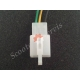 Конектор, роз'єм, електро проводки, 3 дроти (мама 3)