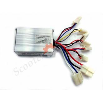 Контроллер 24V250W для электрического скутера, электрического самоката, электрического  квадроцикла, со щеточным двигателем