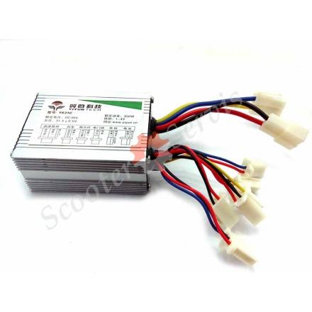 Контролер 36V350W для електричного скутера, електричного самоката, електричного квадроцикла, зі щітковим двигуном
