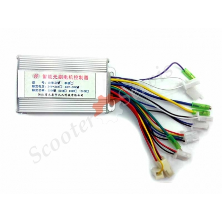 Контроллер 48-60v 350w для  электроскутера
