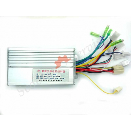 Контроллер 48-60v 500w для  электроскутера